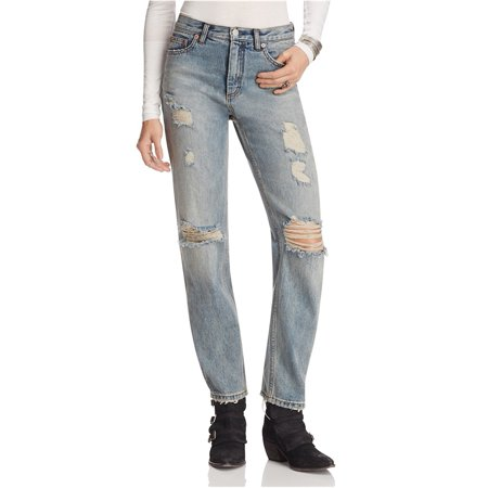9bc33572244 Free People - Free People Womens Destroyed Boyfriend Fit Jeans ...