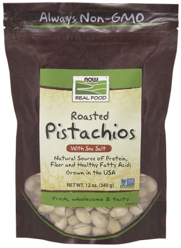 NOW Foods Pistachios Salt 12 Oz by Nero Commerce UG