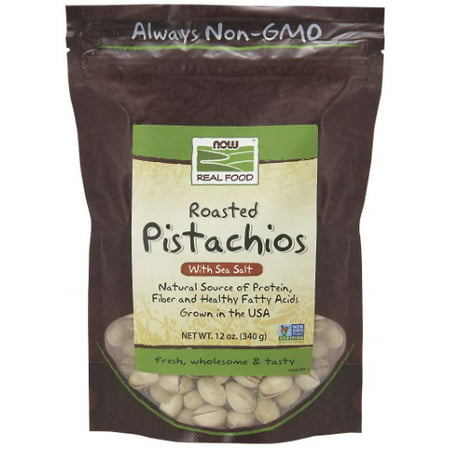 NOW Foods Pistachios Salt 12 Oz
