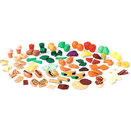 Step2 101 Piece Plastic Play Food Assortment for Toy