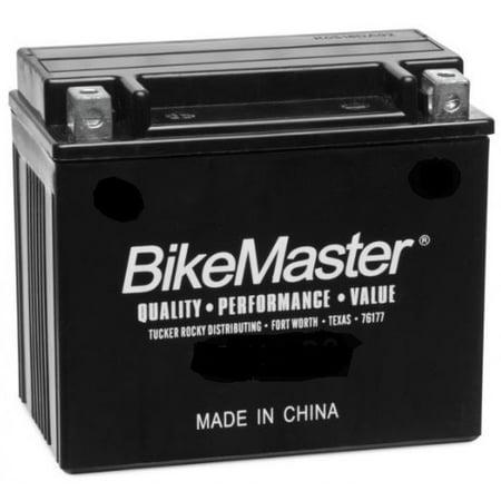 BikeMaster Maintenance Free Battery 75 Cranking Amps 114L x 70W x 130H mm Fits 2013 Can-Am Renegade 850 4x4 XXC DPS