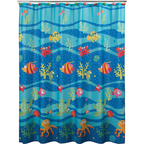 Fish Tails Shower Curtain