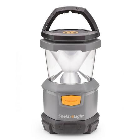 Spektrolight 400 Lumen Outdoor Camping Battery Powered Lantern with Nightlight ()