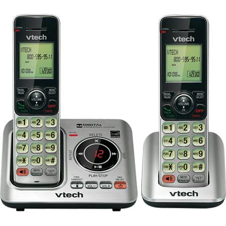 VTech CS6629-2 2 Handset Cordless Landline Phone w/ Power Consuming ECO