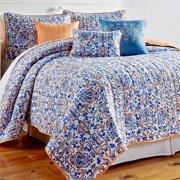 Lauretta 6 Piece Queen Printed Reversible Quilt Set by Amrapur Overseas Inc.