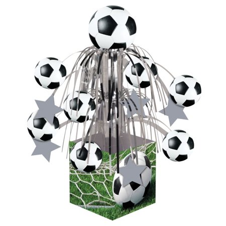 Access Sports Fanatic Soccer Mini Cascade Centerpiece, 1 Ct](Sport Centerpieces)