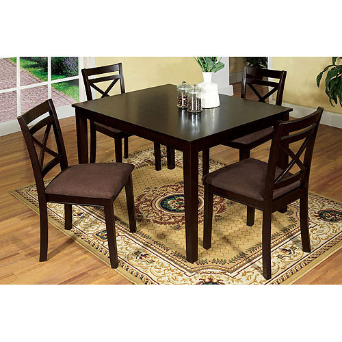 Venetian 5-Piece Weston I Dining Set, Espresso