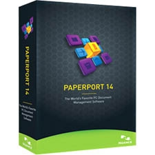"""Nuance 6809A-G00-14.0 Nuance PaperPort v.14.0 - Complete Product - 1 User - Document Management - Standard Box Retail - DVD-ROM - PC - English"""