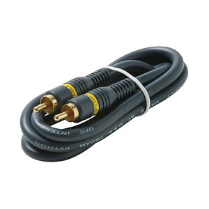 STEREN 3FT PYTHON RCA RCA VIDEO CABLE NIC