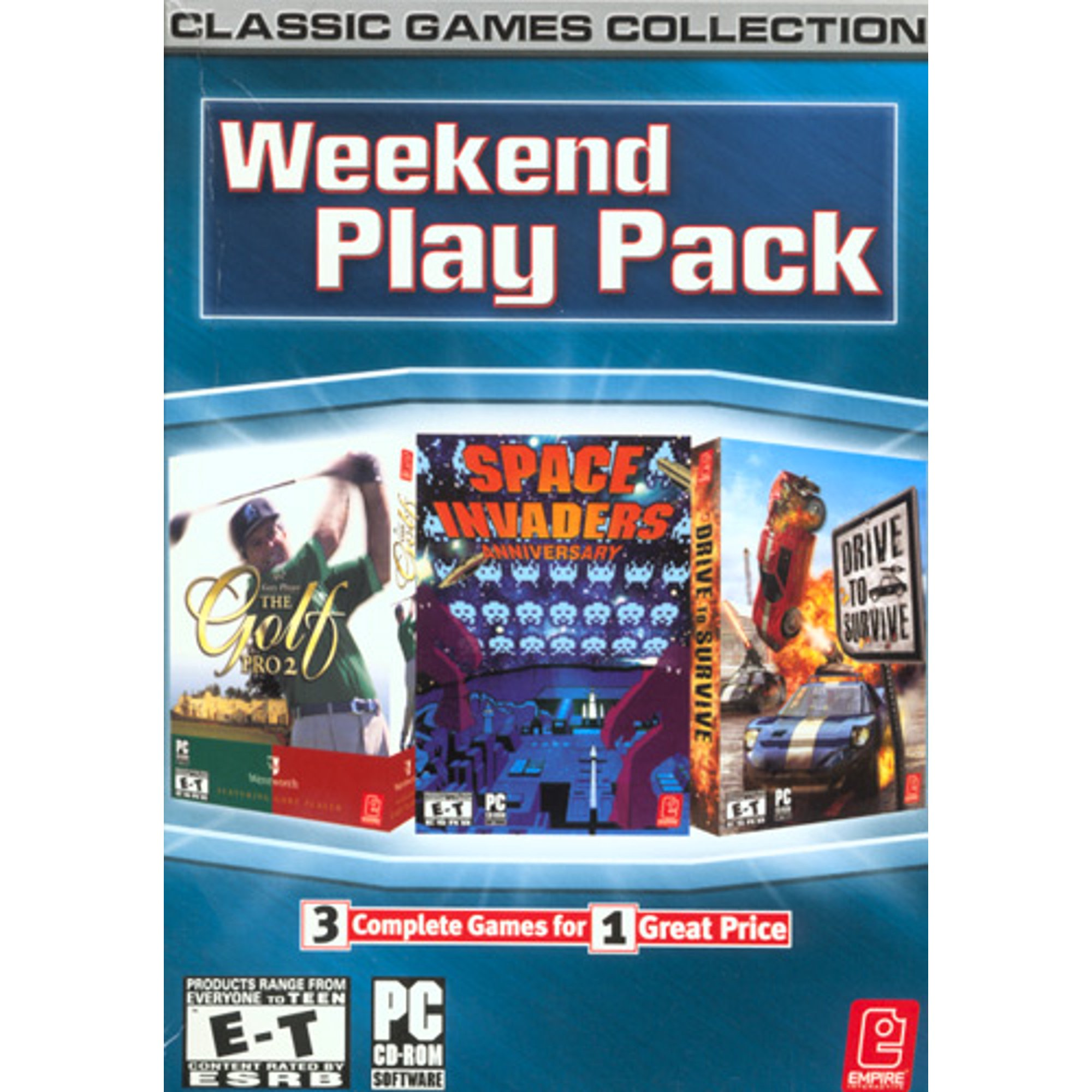 AcTiVision 72614 Weekend Play Pack for PC - Classic Games Collection