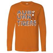 Rattled Choas Long Sleeve Auburn University Tigers T-Shirt