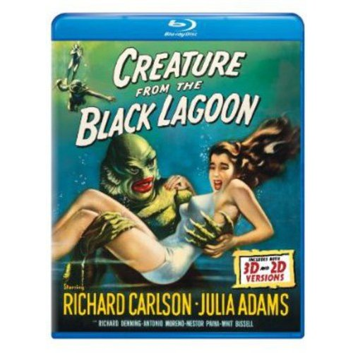 Creature From The Black Lagoon (1954) (3D Blu-ray + Blu-ray) (Widescreen)