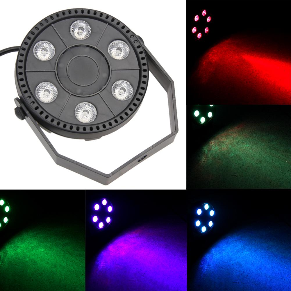6 LED Stage Laser Projector Lighting Party Disco DJ Club Music Bar Light by