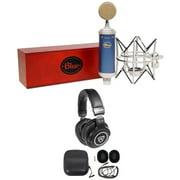 Blue Bluebird SL Studio Condenser Recording Microphone Mic+Shockmount+Headphones