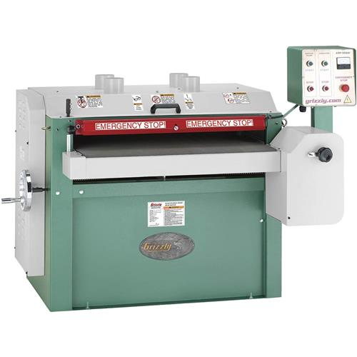 """Grizzly G0450 37"""" 15 HP 3-Phase Drum Sander"""