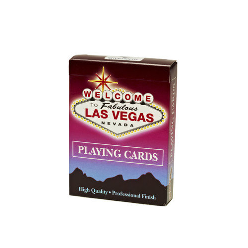 Las Vegas Style Welcome to Las Vegas Playing Card Deck - 12 Deck / Pack