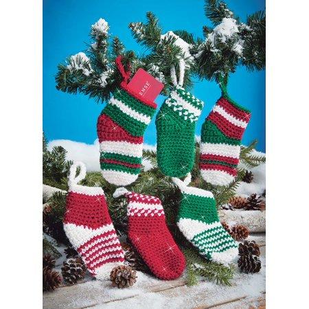Mary Maxim Crocheted Mini Stockings Kit Yarn Walmart