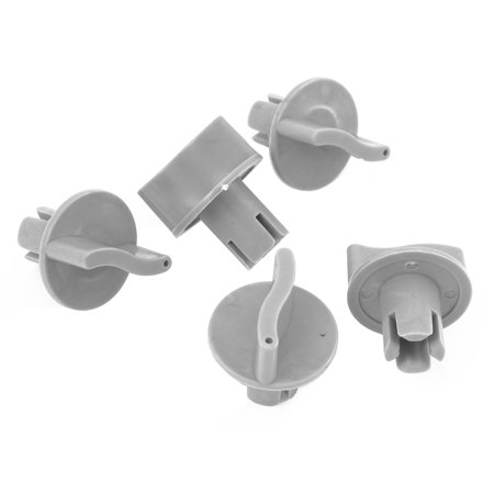 5PCS Gray Universal Heater Fan Operating Control Knob Controller ()
