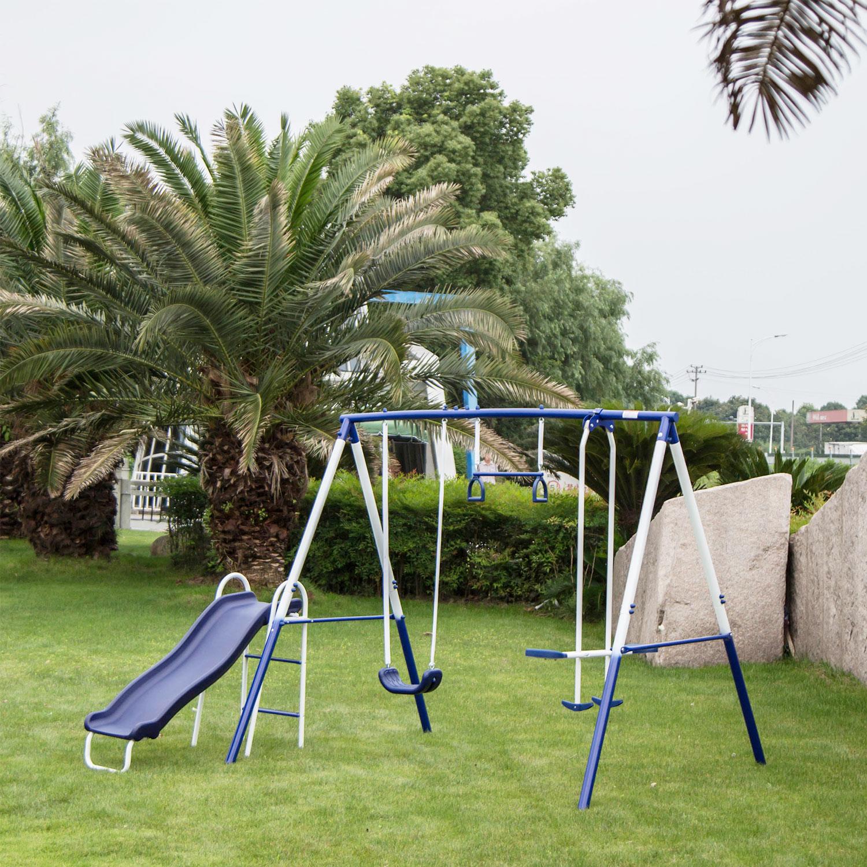 Kinbor 4 in 1 Toddlers to Teens Backyard Outdoor Fun Play ...