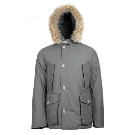 Woolrich - Woolrich Men s Arctic Anorak Parka WO2211 Grey, Red ... 3829bbf6da