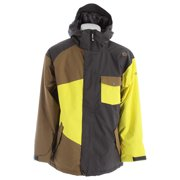 Sessions Istodis Ski Snowboard Jacket Heavy Grey Mens
