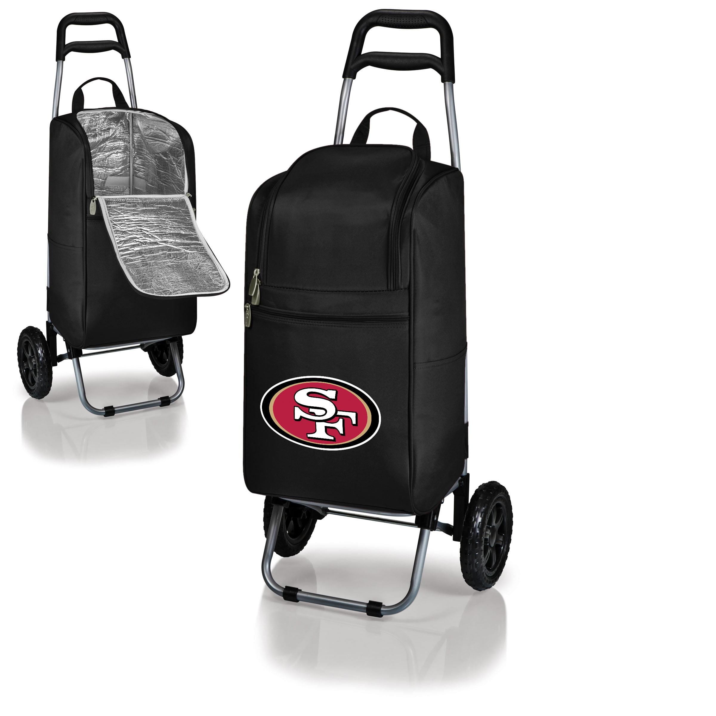 San Francisco 49ers Cart Cooler - Black - No Size
