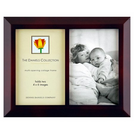 Dennis Daniels Double 4X6 Frame - Walnut Brown - Walmart.com