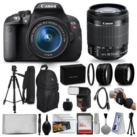 Canon EOS Rebel T5i DSLR Camera Body Bundle