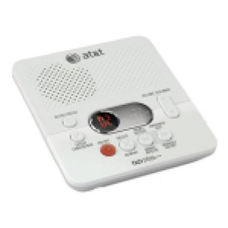 ATT-Vtech 80-8436-00 Digital Answering System With Time-Day Stamp, White