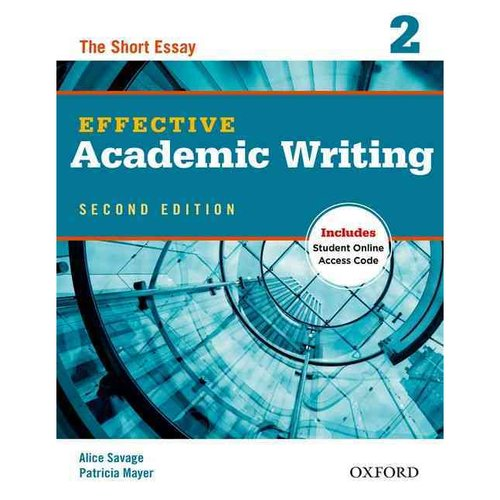 effective academic writing 3 the essay A resource to assist tutors working with focus on writing academic essays in regards to effective communication and the impact on your work.