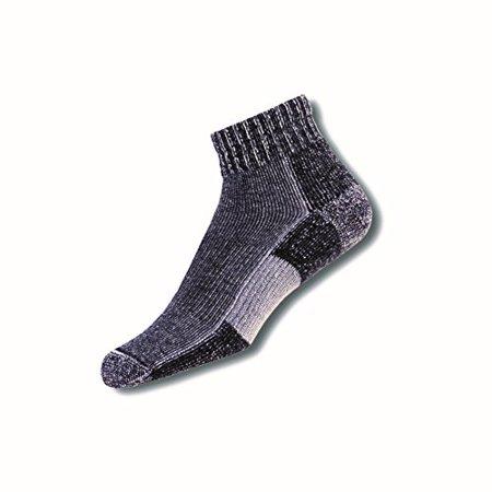 Thorlos Unisex TRMX Trail Running Thick Padded Ankle Sock, Charcoal, Medium - image 1 de 1