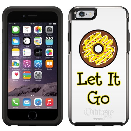 Skin Decal For Otterbox Symmetry Apple Iphone 6 Case   Donut Let It Go Yellow