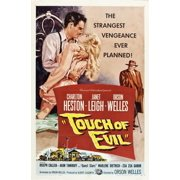 Touch Of Evil Charlton Heston Janet Leigh Orson Welles 1958 Movie Poster Masterprint by Everett Collection