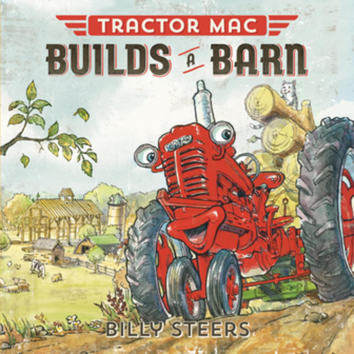 Tractor Mac Builds a Barn - eBook