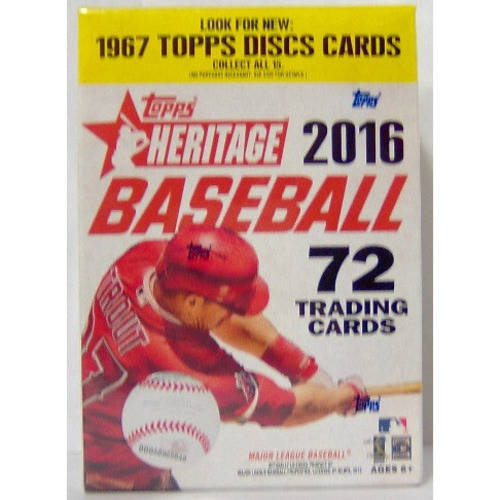 2016 Topps Heritage Baseball Value Box