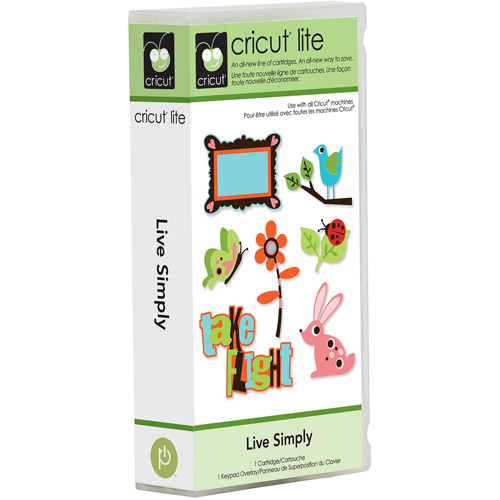 Cricut Lite Cartridge, Live Simply