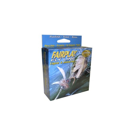 cortland fairplay fly line sinking wf7s #2 black,
