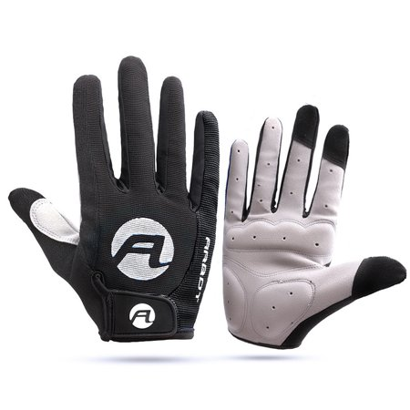 1 Pair of Anti-skid Sun-proof High Temperature Resistance Mountain Bike Warm Keeping Outdoor Cycling Running Touch Screen (Best Running Back Gloves)