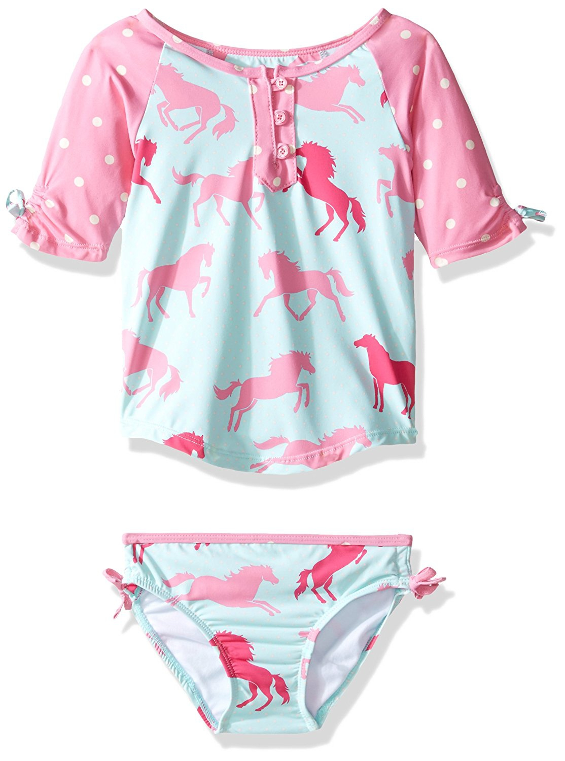 Hatley Girls Baby Rash Guard Set