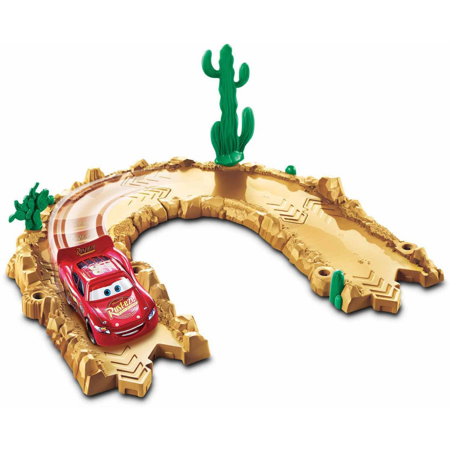 Disney/Pixar Cars Story Sets Willy's Butte Track Track Pack