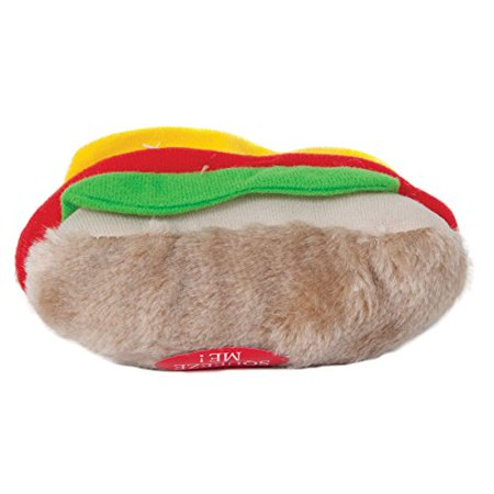 Aspen Pet Products Soft Bite Hot Dog Toy Medium (Pack of