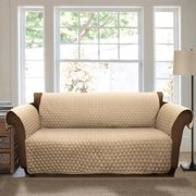 Joyce Furniture Protector, Taupe Sofa Couch Cover