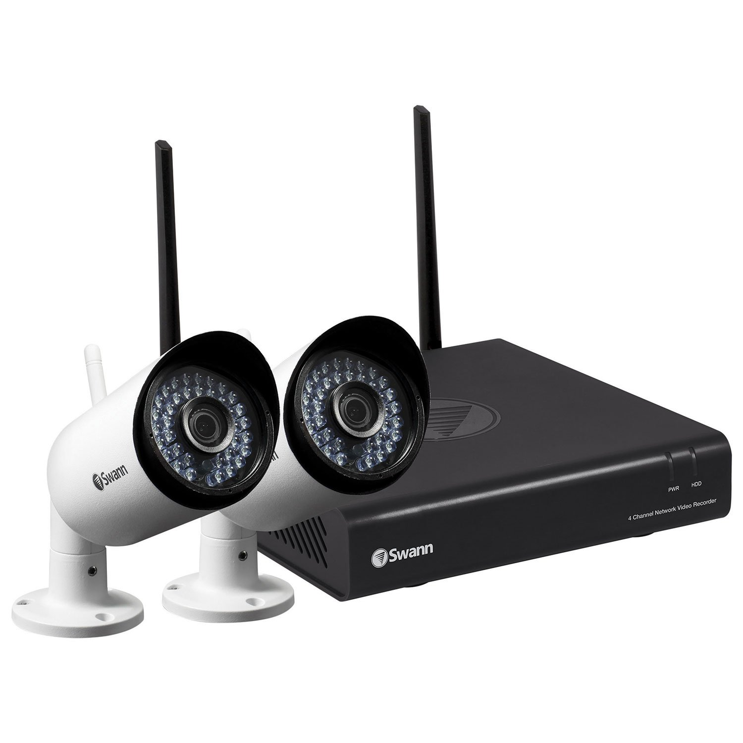 Swann SWNVW-485KH2-US 1080p WiFi Security Kit with 2 Cameras