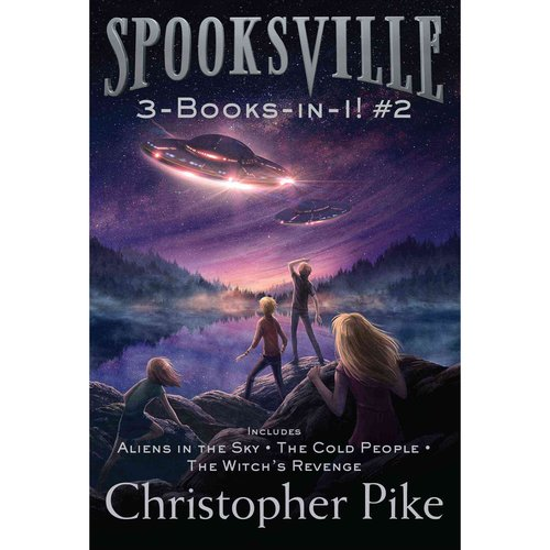 Spooksville 3-Books-in-1: Aliens in the Sky / The Cold People / The Witch's Revenge