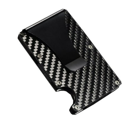 Carbon Fiber Wallet | Money Clip | Rfid Wallets For Men | Credit Card Holder | Minimalist Wallet | Thin Wallet | Metal Wallet | Business Card Holder | Slim Wallet | Gifts For