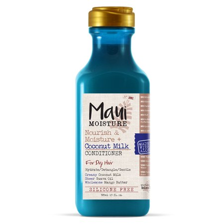 Maui Moisture Nourish & Moisture + Coconut Milk Conditioner, 13 Fl (Best Conditioner For Straw Like Hair)