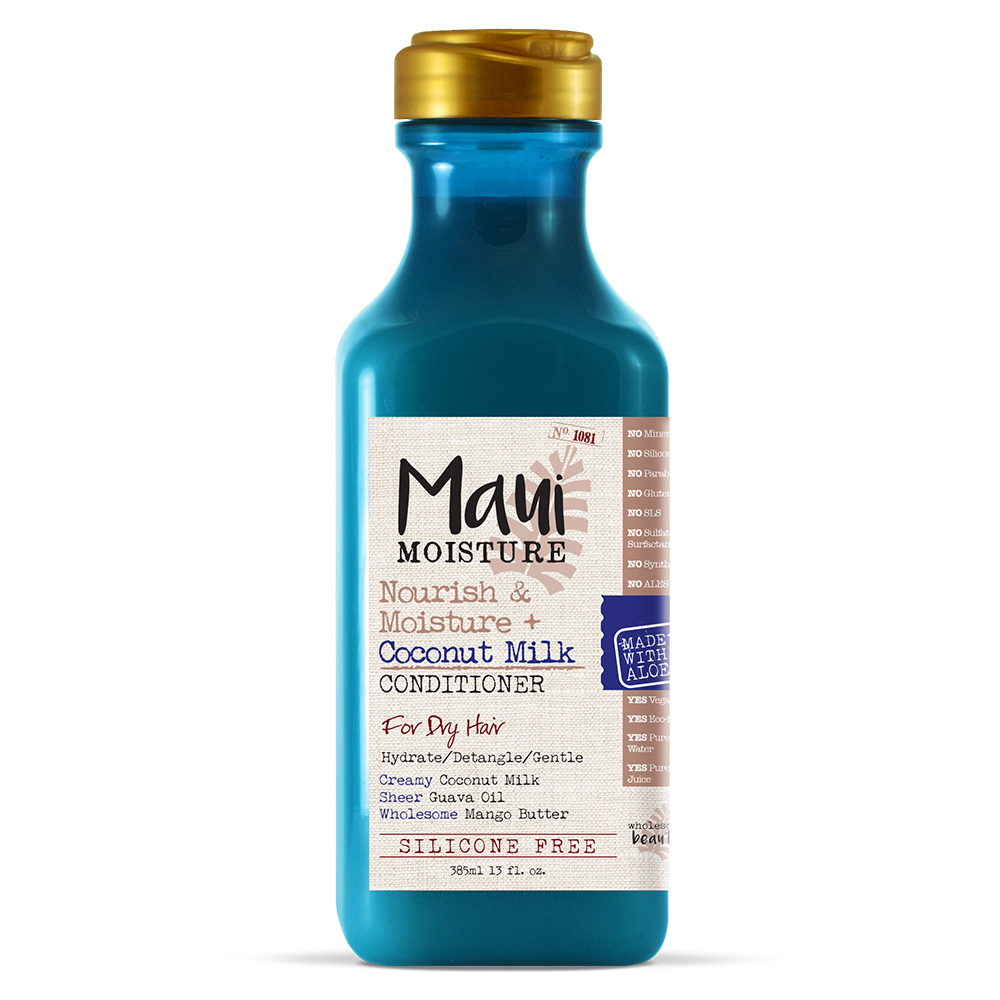 Maui Moisture Nourish & Moisture + Coconut Milk Conditioner, 13 Fl Oz
