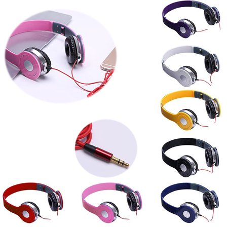 Pixnor Wired Game Music  Headphone Stereo Headset with Microphone for iPhone/All Android Smartphones/PC/Laptop/Tablet