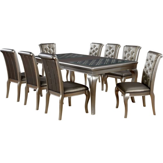 dining table and chair set. 9 Piece Dining Sets Room  Walmart com