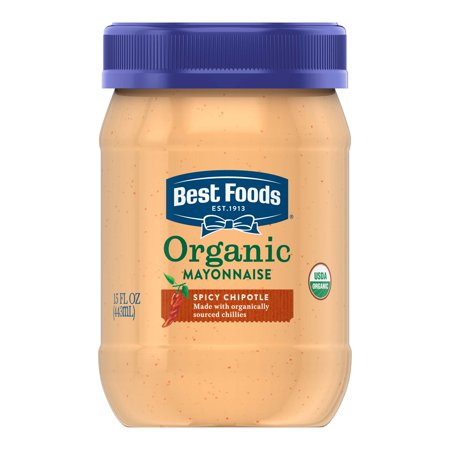 (6 Pack) Best Foods Organic Roasted Garlic Mayonnaise, 15 (Best Spices For Roasted Vegetables)